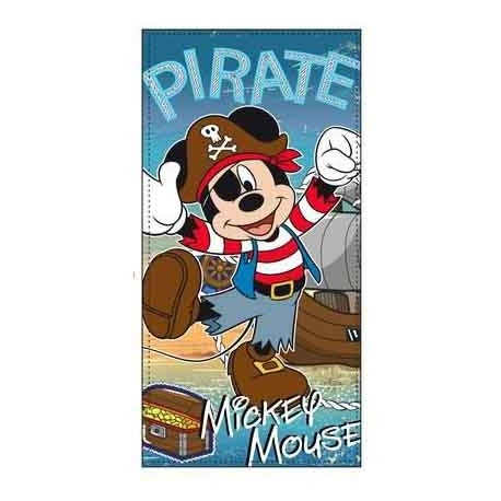 Toalla de playa Mickey Pirata