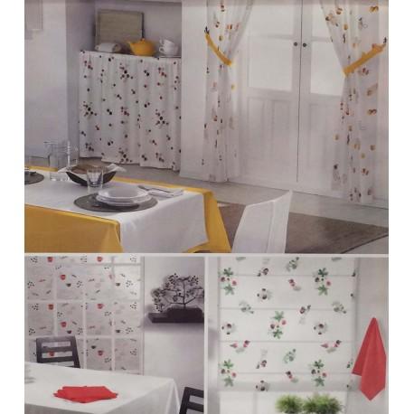 Cortinas de cocina modernas confeccionadas a medida lencant - Telas cortinas cocina ...