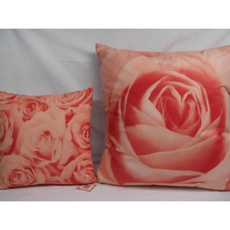 Cojín Rosas