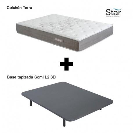 Pack Colchón Terra + Base