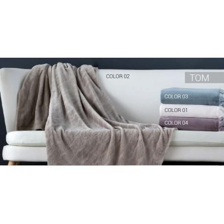 Manta de sofá Tom