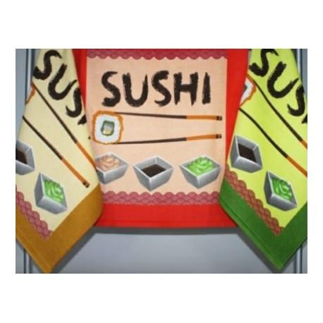 Paño de cocina Sushi