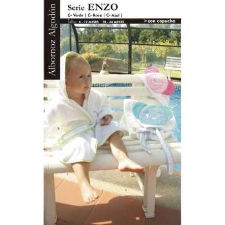 Albornoz infantil Enzo