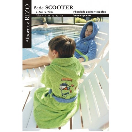 Albornoz niño Scooter