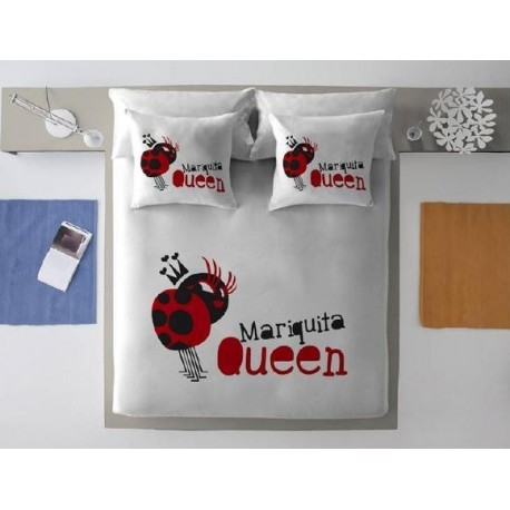 Funda nórdica Mariquita Queen
