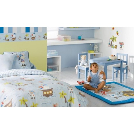 Cortina infantil a medida Child Colección Dreamland