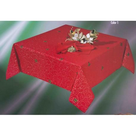 Mantel Navidad Acebo