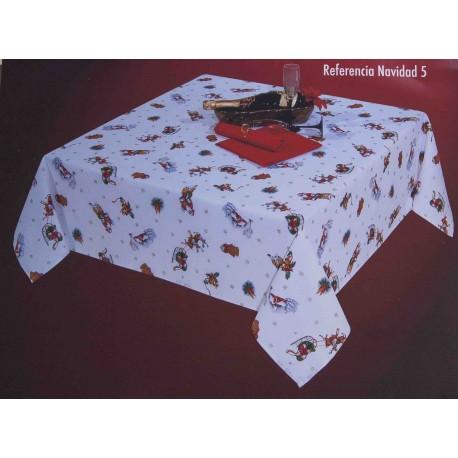 Mantel Navidad Rentier
