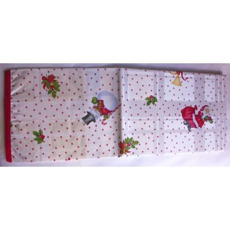 Mantel navidad Santa Klaus