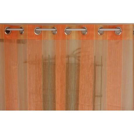 cortina,naranja,rayas