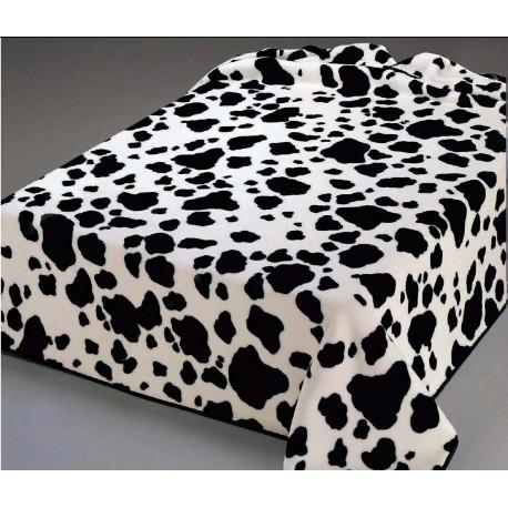 manta piel de vaca