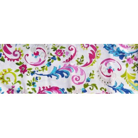 Mantel de resina Flores