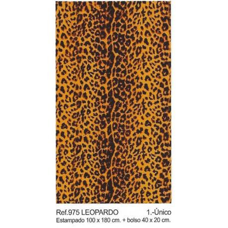 Toalla de playa Leopardo