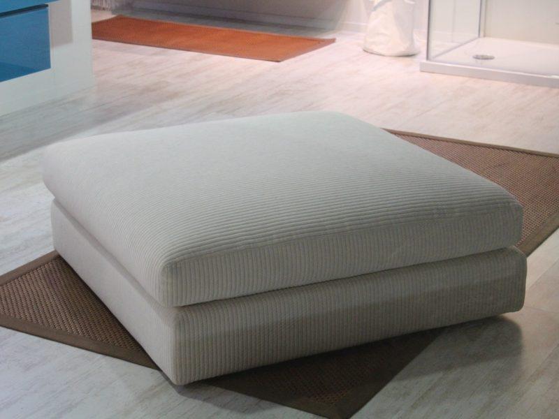 Sofá Blanco Tapizado